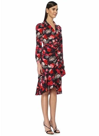 Diane Von Furstenberg Elbise Renkli